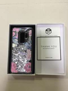 Casetify Samsung Galaxy S9+ 銀閃手機殼