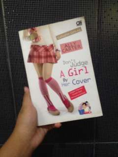 BOOK DONT JUDGE A GIRL BY HER COVER