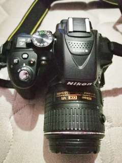 DSLR Nikon D5300 good as new.