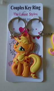 My little pony key chain