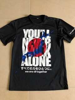 Adidas X 日本311 地震 tee. S碼 T shirt