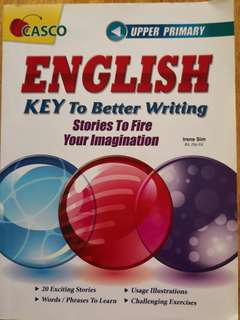 CASCO upper primary english composition book key to better writing