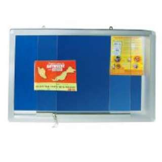 Foam Board with Sliding Glass Frame,Notice board