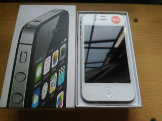 IPHONE 4S 16GB FU NEGOTIABLE