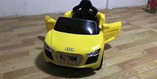 Yello Audi Rechargeable Ride On Car