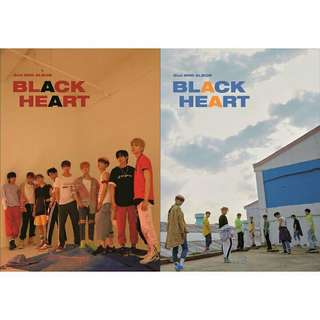 UNB BLACK HEART ALBUM