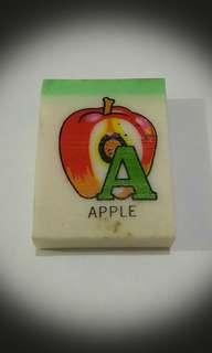 """💖1960至1970年代英文字母""""A""""擦膠💖"""