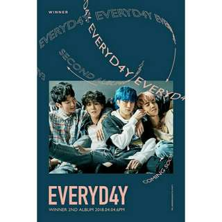 WINNER EVERYDAY ALBUM