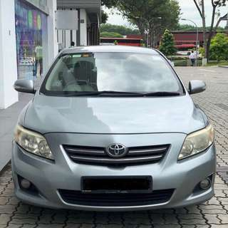 Toyota ALTIS Cheap Rental!* Private-hire Friendly