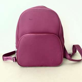 Authentic Lacoste Backpack — Pink