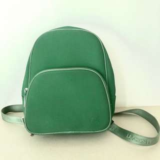 Authentic Lacoste Backpack — Green