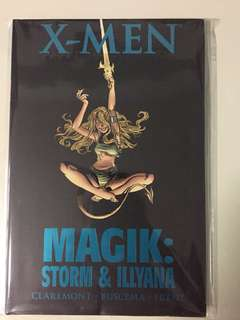 Marvel, X-men, Magic:Storm & Illyana, NM, HC