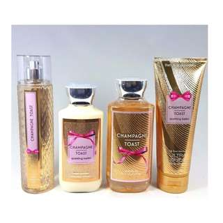 Bath & Body Works Champagne Toast Sparkling Bellini Gift Set