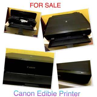 Edible printer canon