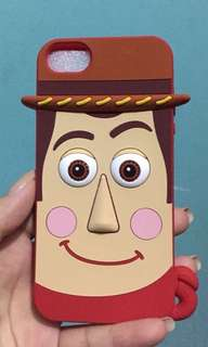 case iphone 5/5s original sheriff woody toy story