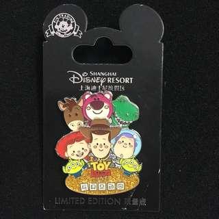 迪士尼徽章 Disney Pin Toy Story Land