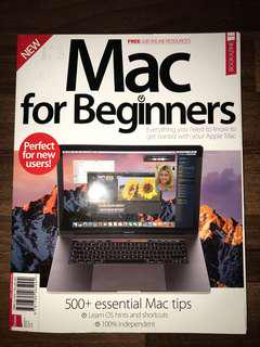 Bookazine Mac for beginners