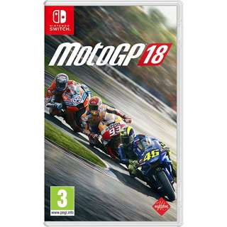 [NEW NOT USED] SWITCH MotoGP 18 Nintendo PQube Racing Games