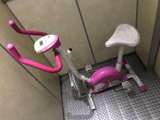 粉紅健身腳踏車🚴♀️