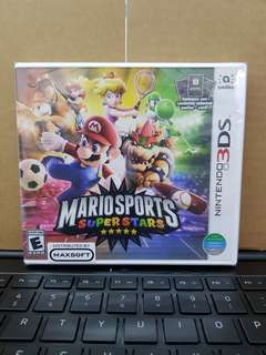 3DS Mario Sports Superstar
