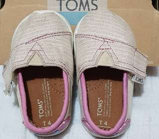 Pre-loved Toms kids: Classic casual shoes