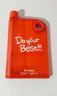 Botol minum cocok masuk tas wanita 420ml