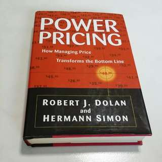 Power Pricing - How Managing Price Transforms the Bottom Line