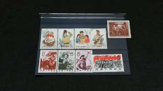 CHINA STAMPS  ( DK - 0175 )