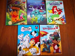 Disney Hard cover story books