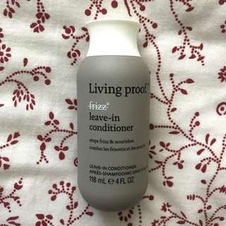 🚚 Living Proof No Frizz Leave-In Conditioner