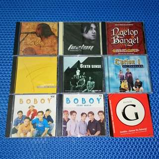 🆒 Assorted CD Single/E.P./Sampler Melayu Audio CD