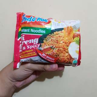 Indomie Mi Goreng (Hot and Spicy)