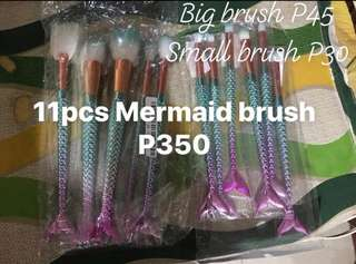 11pcs Mermaid Brushes