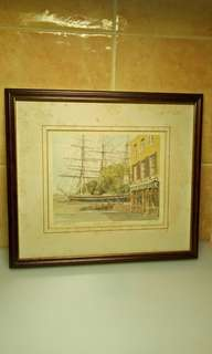 Curry Sark - Greenwich ( Limited Edition of 441 / 850 ) Vintage Portraits of Britain.