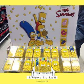 澳洲the Simpsons tic tac糖