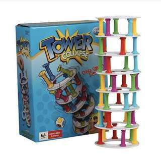 Tower collapse