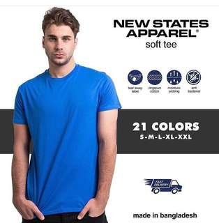 New States Apparel Soft tee