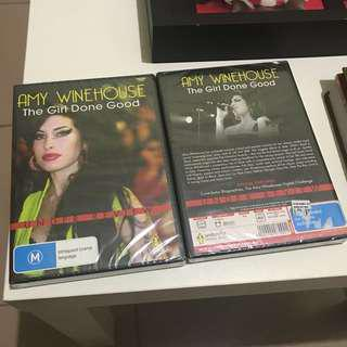 AMY WINEHOUSE The Girl Done Good DVD (Orig-New)