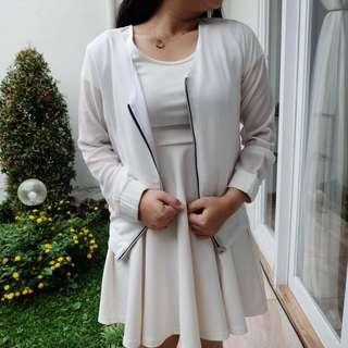 white jacket berrybenka
