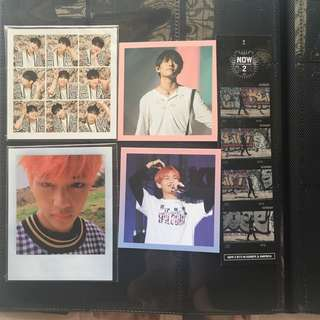 BTS V photocards