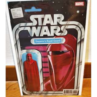 Star Wars #49 Action Figure Variant Emperor's Royal Guard Red