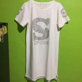 White dress import