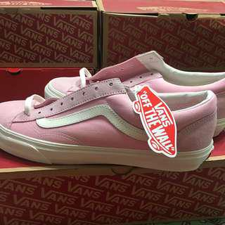 INSTOCK vans style 36 coral blush pink