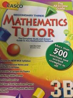 sec 3 CASCO 3B mathematics book