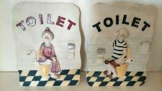 🚚 WC 標示
