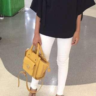 Celana jeans putih / White pants #diskonloh
