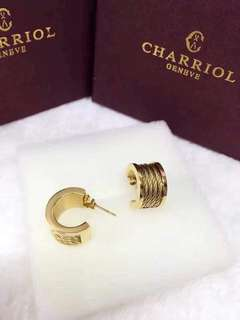 Charriol Gold Earrings