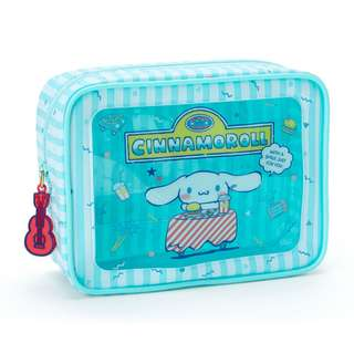 Japan Sanrio Cinnamoroll Plastic Window Pouch (Summer vacation)
