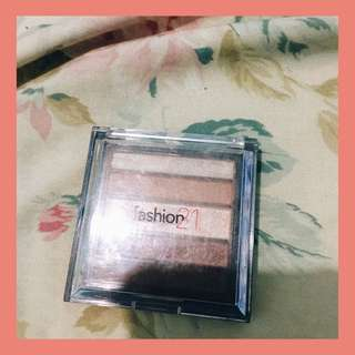 Fashion 21 Eyeshadow #4