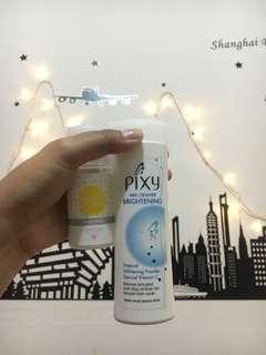 Pixy milk cleanser & Emina moisturizer